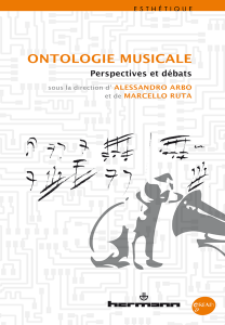 Ontologie musicale