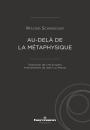 Au-delà de la métaphysique