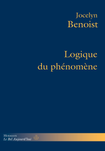 Logique du Phénomène Book Cover