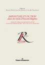 Imposture et fiction dans les récits d'Ancien Régime