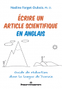 Écrire un article scientifique en anglais