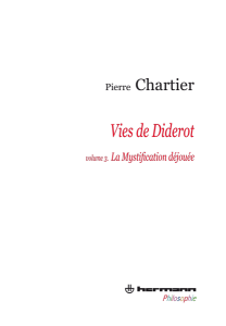 Vies de Diderot. Volume 3