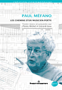 Paul Méfano compositeur