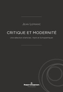 Critique et modernité