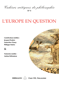 Cahiers critiques de philosophie, n°5
