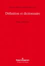 Définition et dictionnaire