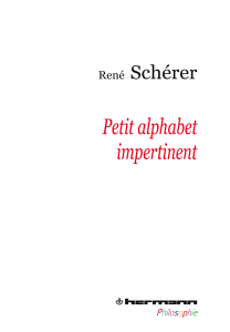 Petit alphabet impertinent